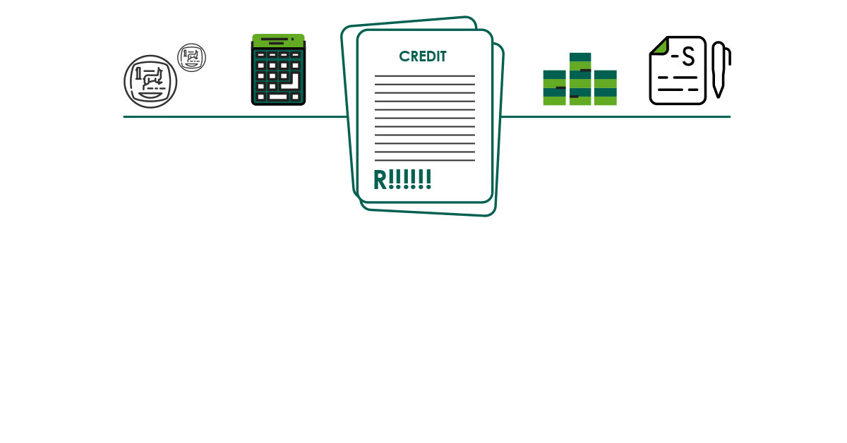 What is the cost of credit